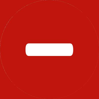 Evaluation SEC remote assignments, Icon Disadvantages Minus